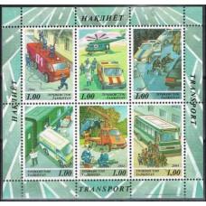 2004 Tadjikistan Mi.349-354/B39 Automobiles 7,20 €
