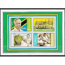 1982 Tanzania Michel 189-92/B26 5.00 €