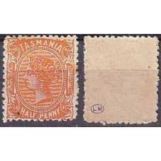 1891 Tasmania Michel 46* Victoria 4.60 €