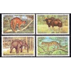 1975 Thailand Mi.742-745 Fauna 20.00 €
