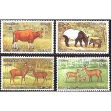 1976 Thailand Mi.827-830 Fauna 14.00 €