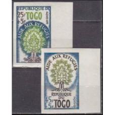 1960 Togo Mi.283-284b Trees 7,00