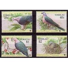 1995 Tokelau Mi.210-213 WWF 5,50 €