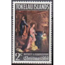 1969 Tokelau Michel 13 Federico Fiori 0.50 €