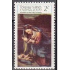 1970 Tokelau Michel 14 Correggio 0.50 €