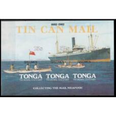 1982 Tonga Mi.820-823/B2 Ships (SPECIMEN)