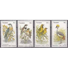 1980 Transkei Mi.75-78 Birds 4,00 €