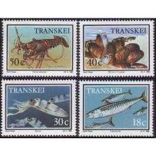 1989 Transkei Mi.238-241 Sea fauna 4,80