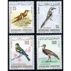 1965 Tunisia Mi.639-642 Birds of Tunisia 20.00 €