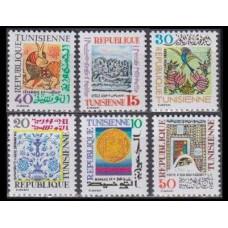 1977 Tunisia Mi.911-916 Flora and fauna 2,40 €