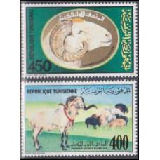 1990 Tunisia Mi.1206-1207 Fauna 3,40 €