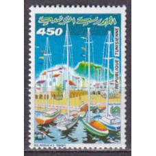 1991 Tunisia Mi.1224 Ships with sails 1,50