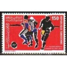 1977 Tunisia Mi.910 Football 1.20