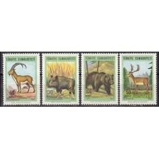 1967 Turkey Mi.2038-2041 Fauna 4,00 €