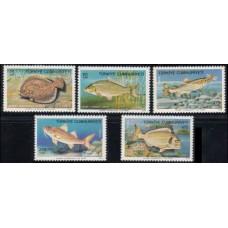 1975 Turkey Mi.2369-2373 Sea fauna 20,00 €