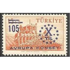 1959 Turkey Mi.1625** Europa 0,70