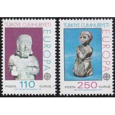 1974 Turkey Mi.2320-2321 Europa 8,00
