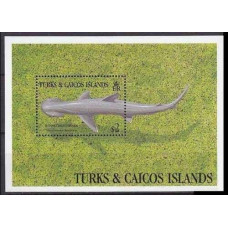 1993 Turks & Caicos Islands Mi.1134/B130 Sea fauna 5,00 €