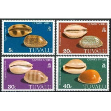 1980 Tuvalu Mi.116-119 Sea fauna 2,00