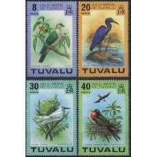 1978 Tuvalu Mi.58-61 Wild birds 11,00