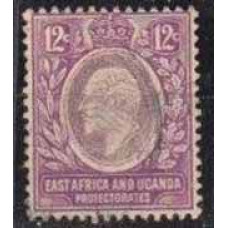 1907 British East Africa & Uganda Mi.37used 5,00 €