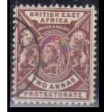 1896 British East Africa Mi.60used Victoria 7,00 €