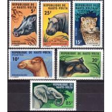 1966 Upper Volta(Haute-Volta) Mi.175-180 Fauna 9.00 €