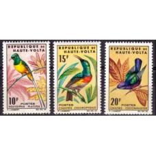 1965 Upper Volta(Haute-Volta) Mi.157-159 Birds 6.50 €