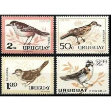 1963 Uruguay Mi.955-958 Birds 7,00 €