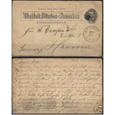 1893 America Postcard