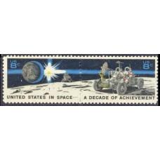 1971 USA Mi.1046-1047Paar Lunar ROVER 0,60