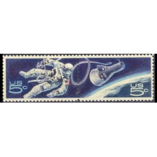 1967 USA Mi.930-931Paar Spacewalker 1,50 €