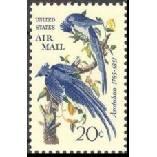 1963 USA Mi.920 Air, = 1963 Audubon 1,00 €