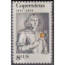 1973 USA Mi.1095 Nicolaus Copernicus 0,30