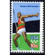 1979 USA Mi.1395 1980 Olympic Moscow 0,40