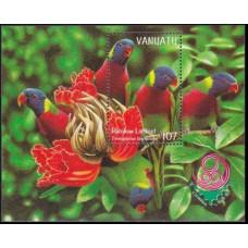 1999 Vanuatu Mi.1084/B34 Birds