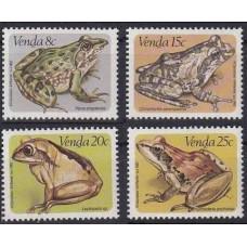 1982 Venda Mi.66-69 Fauna 3,20 €