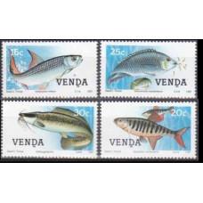 1987 Venda Mi.159-162 Sea fauna 4,50 €