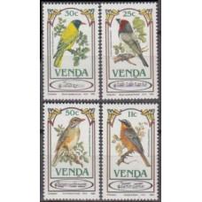 1985 Venda Mi.103-106 Songbirds 4,00