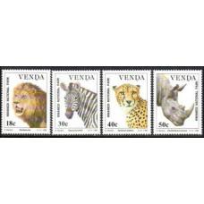 1990 Venda Mi.200-203 Fauna 6,00