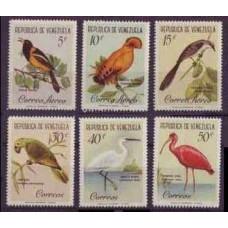 1961 Venezuela Mi.1416-1421 Birds 12,00 €