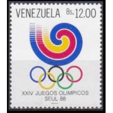 1988 Venezuela Mi.2551 1988 Olympic Seoul 1,50 €
