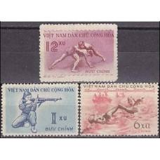 1959 Vietnam Michel 105-107 Sport 8.00 €