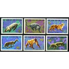 1967 Vietnam Mi.475-480 Fauna 12,00 €