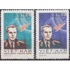 1961 Vietnam Mi.181-182 Gherman Titov 8,00 €
