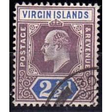 1904 Virgin Islands Mi.29 used Eduard VII 3.60 €