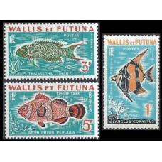 1963 Wallis & Futuna Mi.P37-P39 Sea fauna 16,00 €
