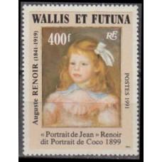 1991 Wallis & Futuna Mi.598 A. Renoir 12,00 €