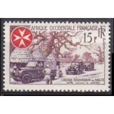 1957 West-Africa FR Mi.83 Automobiles 1,70 €