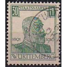 1916 Germany Wurttemberg Michel D247 used 20.00 €